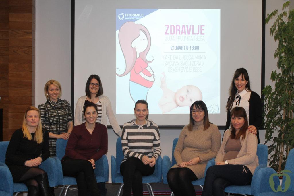 Prosmile - Predavanje za trudnice - Bebac